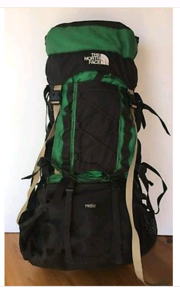 d9c257d87aad The North Face Prism Internal Frame Backpack Green 4000 Cubic Inches 65L |  in Leith Walk, Edinburgh | Gumtree