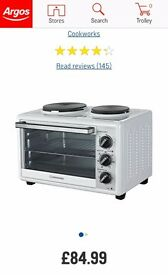 Cookworks Mini Oven with Hob