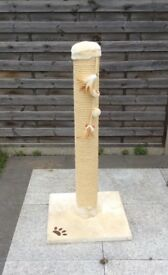 Cat scratcher / scratching post - great for larger breeds
