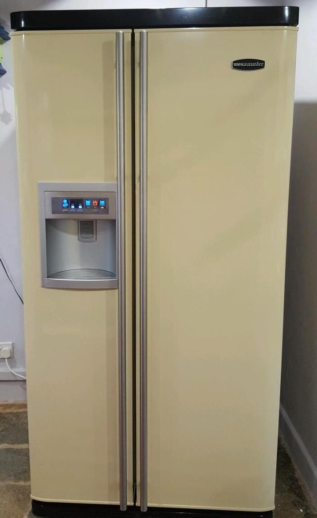reserved rangemaster american style fridge freezer cream. Black Bedroom Furniture Sets. Home Design Ideas