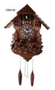 Deluxe 16.5-inch Forest Elk Cuckoo Clock - C00149