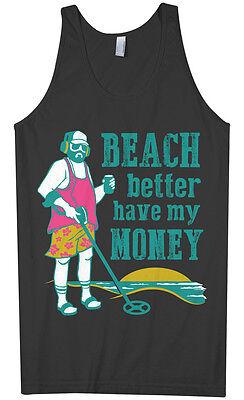 Beach Better Have My Money Men's Tank Top Metal