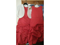 2 x brides maids dresses size 14