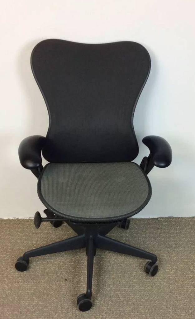 herman miller mirra chairs graphite fully loaded in leeds city