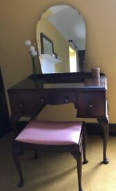 Dressing Table & Stool (Collection from ABOYNE)