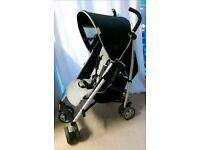 Bruin black & grey buggy stroller pushchair with rain cover