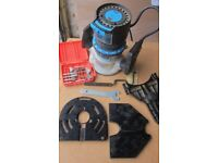 A range of 110v professional power tools complete with the 240-110v industrial transformer