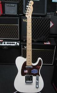 Fender American Deluxe Telecaster Electric Guitar with Hard Case & Free Roland Cube-01 Amp