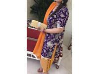 Asian Mehndi Outfits