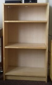 Handy Billy book shelves. Good condition attractive storage for books