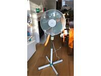 Standing rotary fan