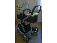 Cossato Giggle Treet 3 in 1 Travel System (Pram, Pushchair & Carseat)