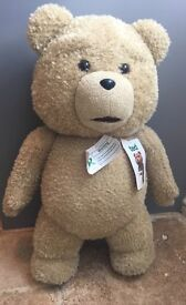 """Super Sized Official TED With Tags 25"""" Inch Tall"""
