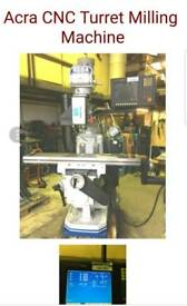 Acra CNC turret milling machine