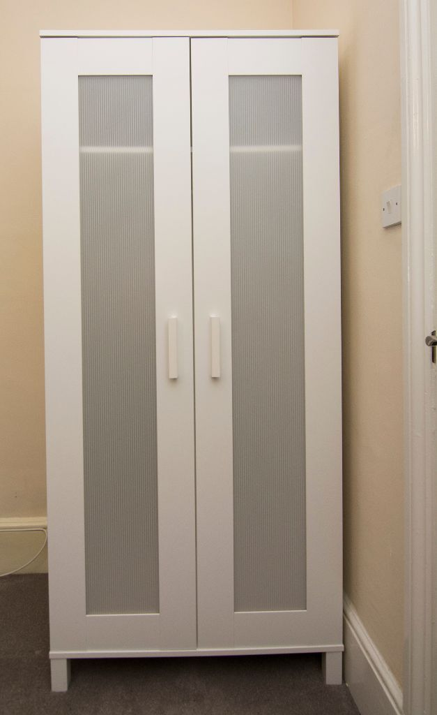 ikea aneboda wardrobe in white 6 months old as new in mile end london gumtree. Black Bedroom Furniture Sets. Home Design Ideas