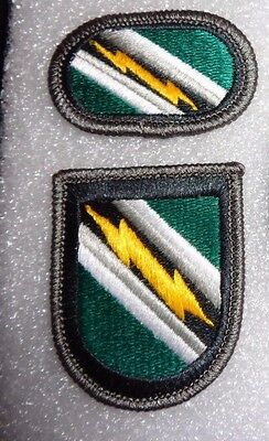 ARMY PATCH, AIRBORNE BERET FLASH,PARACHUTE BACK GROUND OVAL,7TH PSYOP GROUP