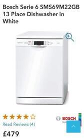 Bosch 13 Place Dishwasher