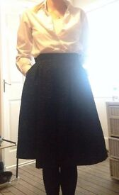 skirt H & M , used 3 times , size 34, uk 6