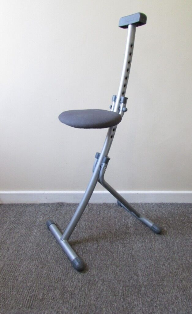 Amazing Leifheit Multi Seat Niveau Chrome Ideal For Ironing Exercising Or Working At A Bench Spine In Leicester Forest East Leicestershire Gumtree Uwap Interior Chair Design Uwaporg