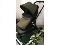 Mothercare journey 3 wheel travel system in khaki (sold out online)