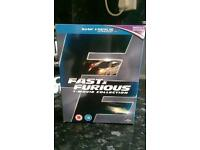 Fast and Furious Blu-Ray box set 1-7