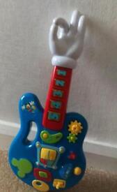 Mickey Mouse musical guitar, makka pakka and twirlywoo