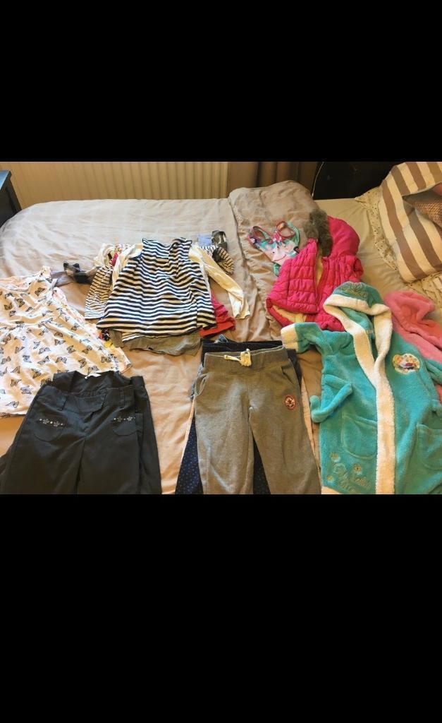 Girls clothes bundle 4-5