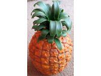 Genuine Original 1970's Retro Vintage Kitsch Pineapple Ice Bucket Made in England