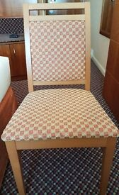 4 Chairs set - 4* Accomodation Clearance- Excellent Condition
