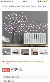 Wall decals for sale brand new
