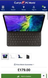 MUST LOOK !! Apple iPad Pro 11 inch apple folio keyboard case £180 in apple