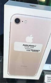Apple iPhone 7 - 32GB (New) Vodafone Network (can be Unlocked)