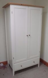 Ikea Visdalen Wardrobe and Chest of drawers