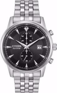 Citizen CA7000-55E Mens Eco-Drive Corso Stainless Steel Chronograph Watch