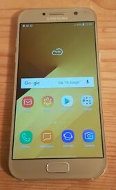 Samsung A5 2017 32Gb unlocked mobile +case, immaculate condition, professionally CHECKED