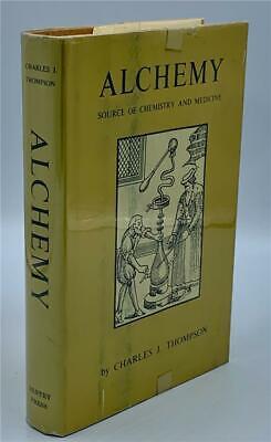 OCCULT ALCHEMY CHEMISTRY ROMAN MEDICINE ANCIENT PHILOSOPHERS STONE