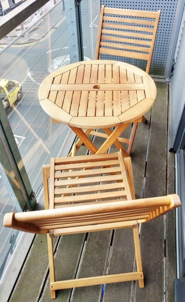 Garden Chairs Argos Home Newbury 2 Seater Wooden Bistro Set
