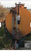 750 gallon PTO septic tank
