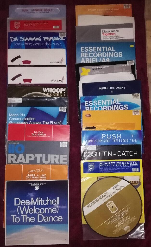 Records Vinyl 12