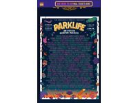 3 x Weekend Tickets - Parklife Heaton Park Manchester - 9th & 10th June 2018 - General Admission