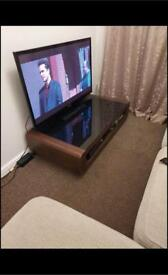 Tv unit and matching side table