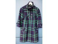 (SFERA) plaid coat