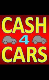 Wanted any cars free collection top cash paid