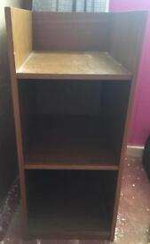 Shelving unit book stand