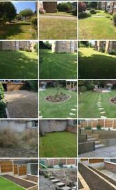 Budget Landscape, garden, artificial grass and much more!