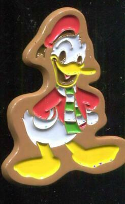 Holiday Gingerbread Donald 2017 LE Disney Pin 125691