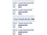 Tenerife tickets
