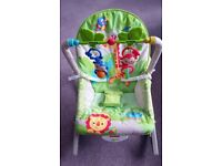 Fisher-Price Rainforest Friends Infant-Toddler Rocker