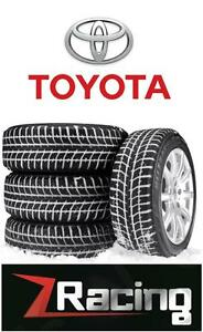 Toyota winter tires snow tire Rims @9056732828 ZRACING