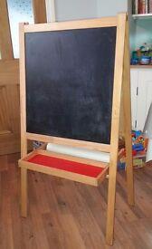 Blackboard chalkboard easel